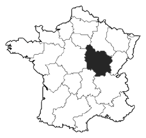 Cartina Della Francia In Bianco E Nero.Vini Della Borgogna Oltre La Cuvee